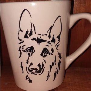 German Shepherd Coffee Cup